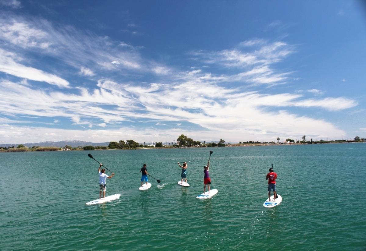 Les cales de Sant Carles de la Ràpita en paddle surf