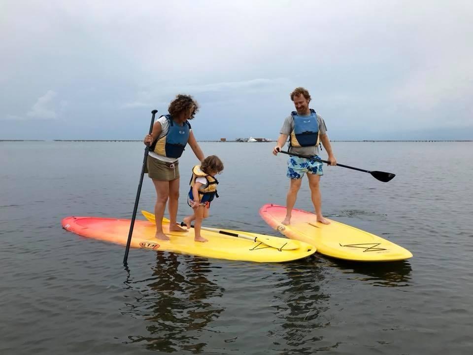 Location de paddle surf aux parcs à moules
