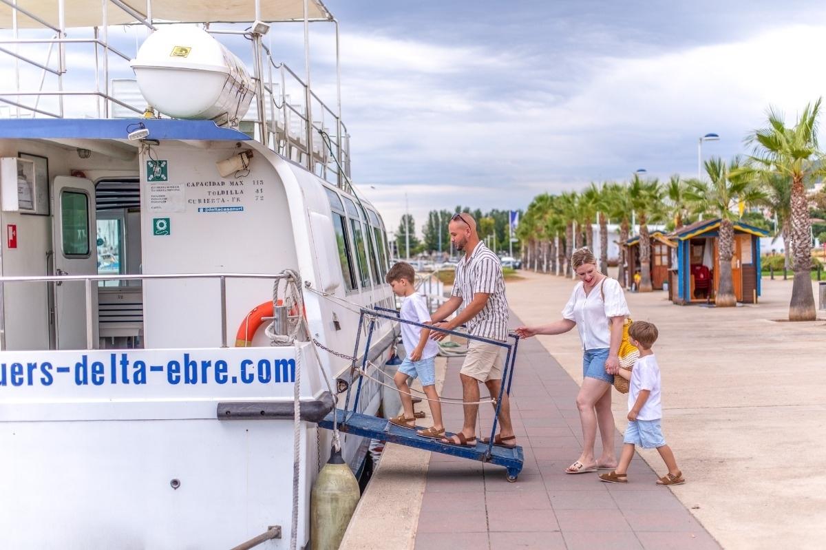 Tour express por las mejilloneras en barca