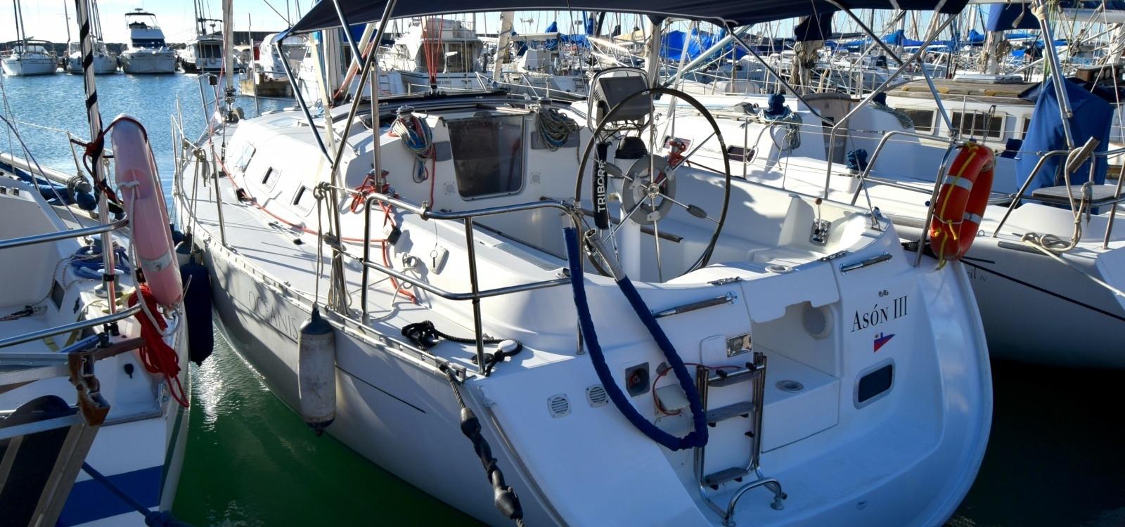 Delta de l'Ebre with the Oceanis sailboat