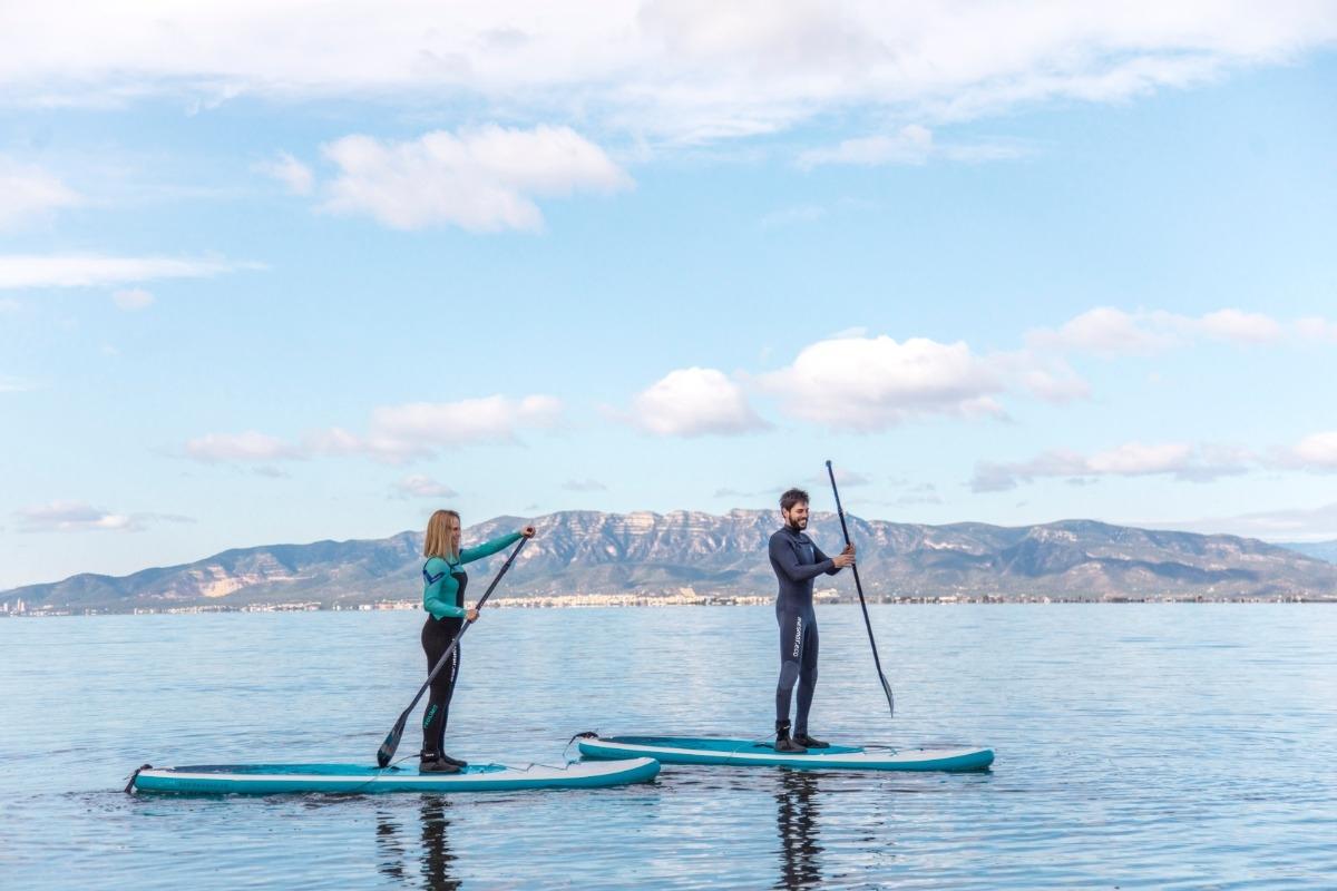 Rutes extraordinàries amb paddle surf