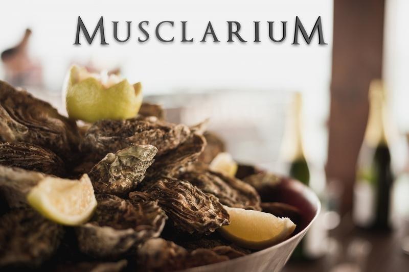 Visita y degustacion en Musclarium con taxi maritimo (mejillones y ostras)
