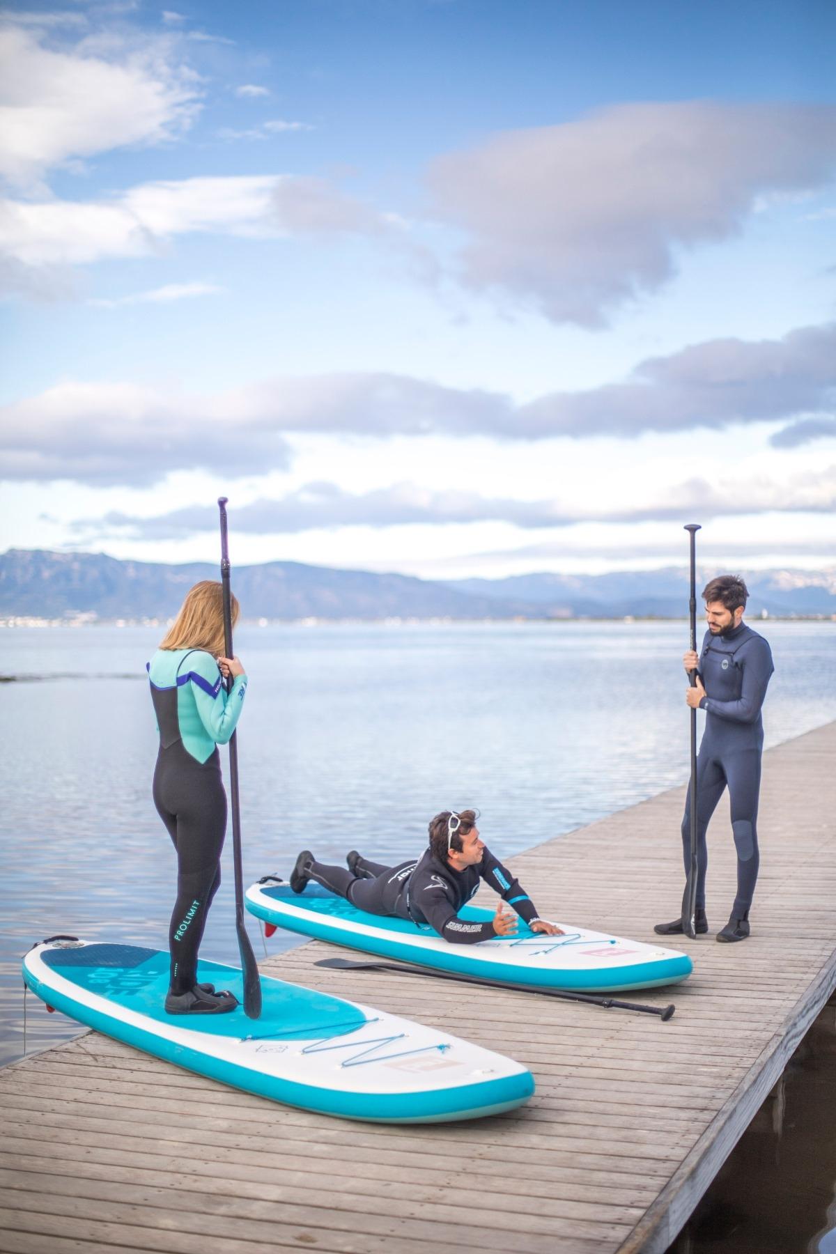 Route Vora - Vora avec Paddle Surf