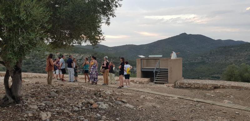Visite de la Moleta del Remei, site ibérique d'Alcanar